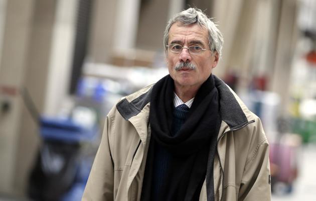 Le juge Renaud Van Ruymbeke arrive au Palais de justice de Paris, le 29 octobre 2012 [Kenzo Tribouillard / AFP/Archives]