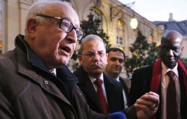 Abdallah Zekri, président de l'Observatoire contre l'islamophobie au sein du CFCM, le 8 novembre 2012 à Paris [Pierre Verdy / AFP/Archives]