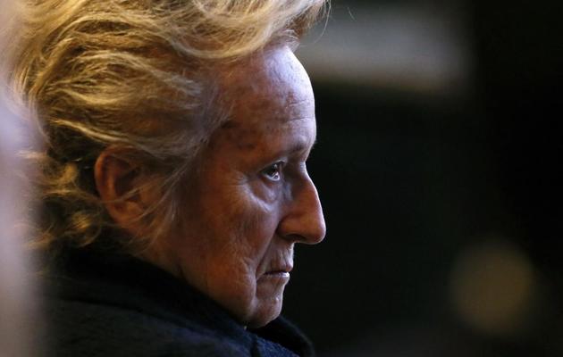 Bernadette Chirac, le 22 novembre 2012 à Paris [Patrick Kovarik / AFP/Archives]