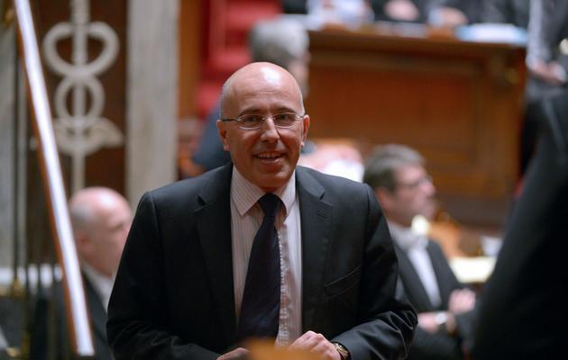 Eric Ciotti, député UMP, le 28 novembre 2012 à l'Assemblée nationale à Paris [Martin Bureau / AFP/Archives]