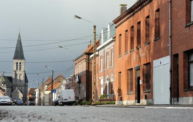 La ville belge de Néchin, le 10 décembre 2012 [Philippe Huguen / AFP]