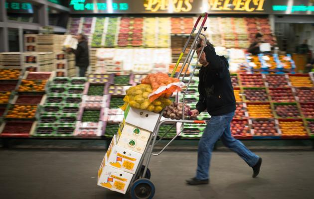 Fruits et légumes le 11 décembre 2012 à Rungis [Martin Bureau / AFP/Archives]