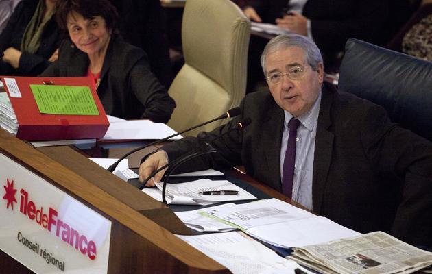 Jean-Paul Huchon, président du Conseil régional d'Ile-de-France, le 20 décembre 2012 à Paris [Edouard de Mareschal / AFP/Archives]