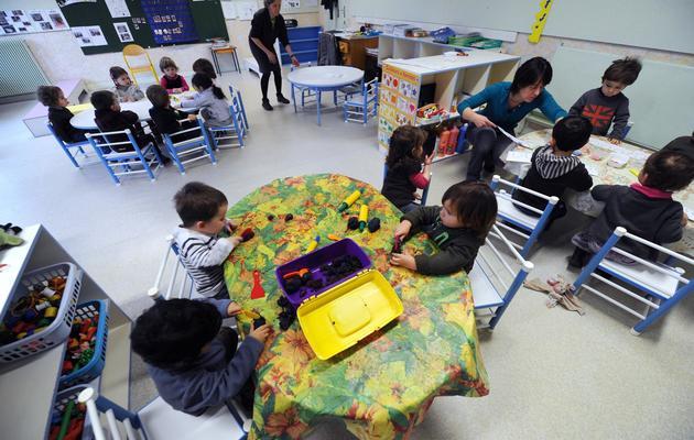 Des enfants dans une crèche [Eric Cabanis / AFP/Archives]