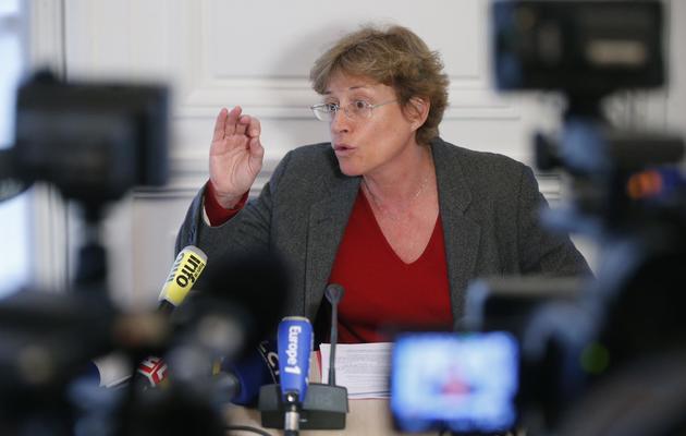 La député PS Annick Lepetit, le 15 janvier 2013 à l'Assemblée nationale à Paris [Pierre Verdy / AFP/Archives]