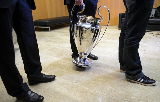 Le trophée de la Ligue des champions au siège de l'UEFA à Nyon, en Suisse, le 20 décembre 2012 [Fabrice Coffrini / AFP/Archives]