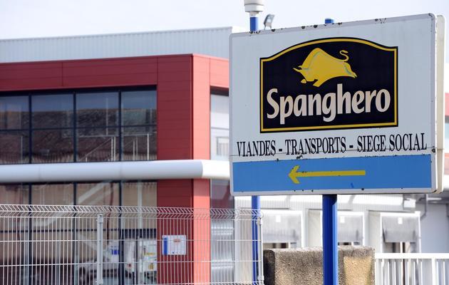 L'usine Spanghero de Castelnaudary, le 10 février 2013 [Remy Gabalda / AFP/Archives]