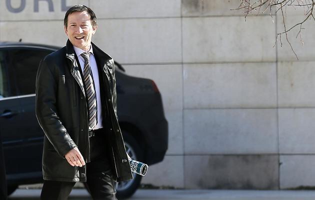 Le juge Jean-Michel Gentil, le 19 février 2013 à Bordeaux [Patrick Bernard / AFP/Archives]
