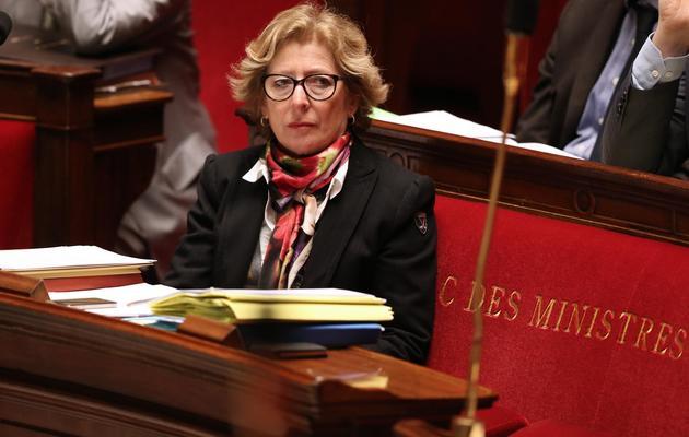 Geneviève Fioraso, le 11 mars 2013 à Paris [Thomas Samson / AFP/Archives]