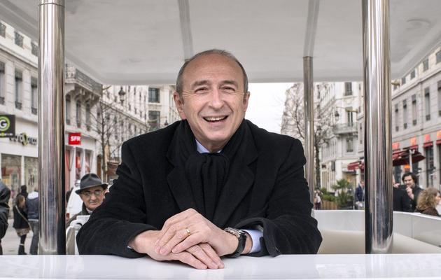 Le maire PS de Lyon Gérard Collomb, le 13 mars 2013 [Philippe Merle / AFP/Archives]