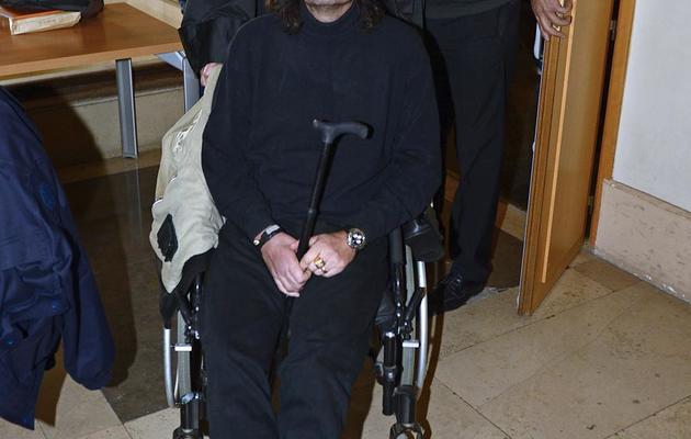 L'ex-attaché parlementaire de la députée Sylvie Andrieux, Rolland Balalas, au tribunal de Marseille, le 13 mars 2013 [Boris Horvat / AFP/Archives]
