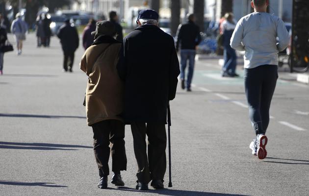 Un couple de personnes âgées [Valery Hache / AFP/Archives]