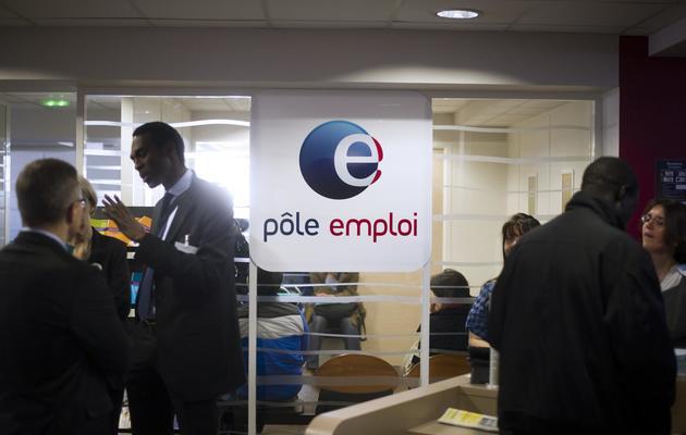 Une agence de pôle emploi le 25 mars 2013 à Pantin [Fred Dufour / AFP/Archives]