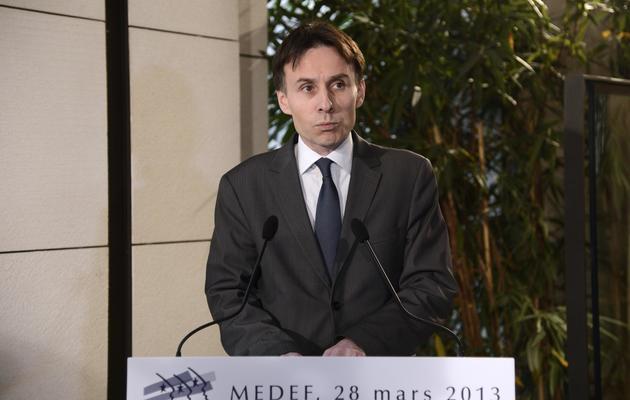 Hubert de L'Estoile, secrétaire général du Medef, le 28 mai 2013 à Paris [Bertrand Guay / AFP/Archives]