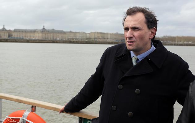 Le rapporteur PS du projet de loi sur l'enseignement supérieur et la recherche, Vincent Feltesse, le 29 mars 2013 à Bordeaux [Nicolas Tucat / AFP/Archives]