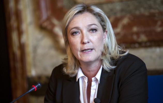 Marine Le Pen, le 2 avril 2013 à Paris [Fred Dufour / AFP/Archives]