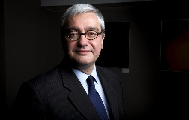 Le PDG de l'Agence France-Presse Emmanuel Hoog, le 4 avril 2013 à Paris [Fred Dufour / AFP/Archives]