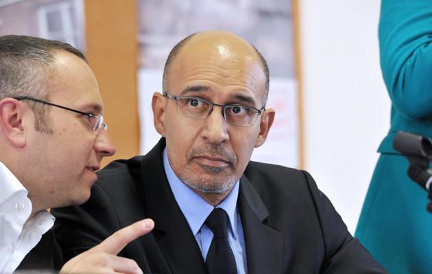 Harlem Désir, le premier secrétaire du PS, le 5 avril 2013 à Limoges [Pascal Lachenaud / AFP/Archives]