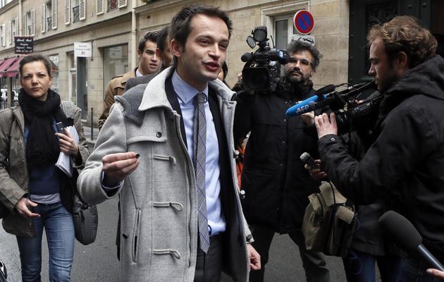 Pierre Yves Bournazel  le 9 avril 2013 à Paris [Patrick Kovarik / AFP/Archives]
