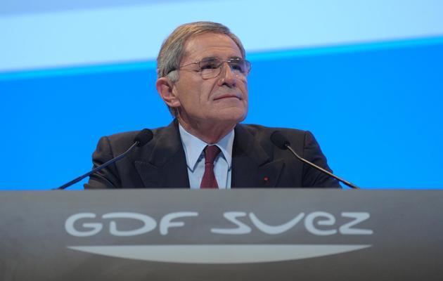 Le PDG de GDF Suez, Gérard Mestrallet, à Paris le 23 avril 2013 [Eric Piermont / AFP/Archives]