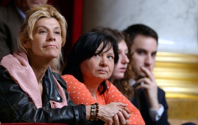 Virginie Tellene alias Frigide Barjot le 23 avril 2013 à l'Assemglée nationale à Paris [Martin Bureau / AFP/Archives]