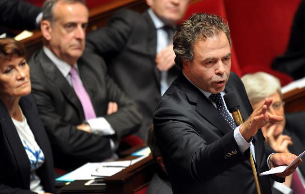 Luc Chatel, vice-président délégué de l'UMP, le 24 avril 2013 à Paris [Pierre Andrieu / AFP/Archives]