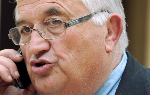 Bernard Barral, candidat PS à la législative partielle du Lot-et-Garonne, le 30 avril 2013 à Villeneuve-sur-Lot [Mehdi Fedouach / AFP/Archives]
