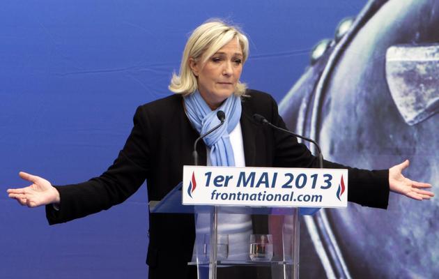 Marine Le Pen, le 1er mai 2013 à Paris [Joel Saget / AFP]