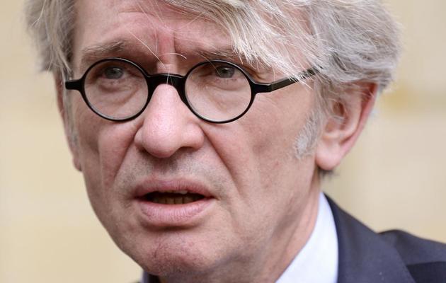Le secrétaire général de Force Ouvrière, Jean-Claude Mailly, le 13 mai 2013 à Matignon, à Paris [Bertrand Guay / AFP/Archives]