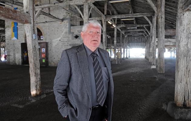Laurent Spanghero, qui a fondé l'entreprise avant de la vendre en 2009 à la coopérative basque Lur Berri, le 14 mai 2013 à Revel, dans le sud [Remy Gabalda / AFP]