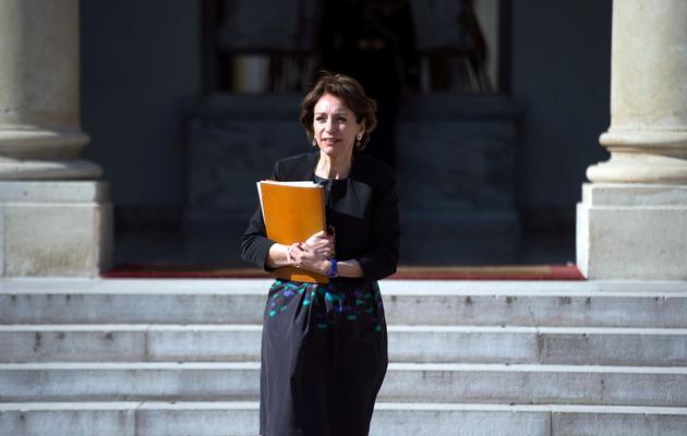 La ministre de la Santé, Marisol Touraine, à Paris, le 22 mai 2013 [Martin Bureau / AFP]