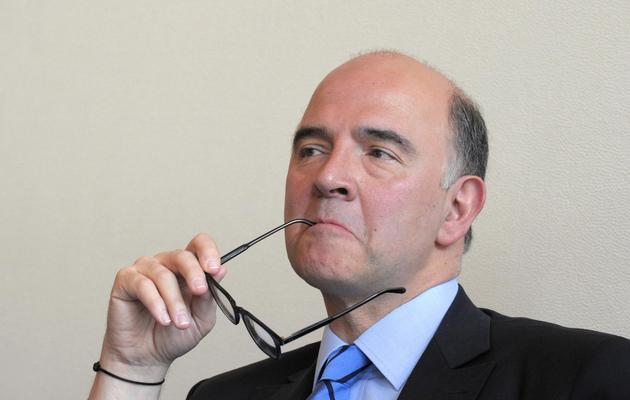 Le ministre de l'Economie Pierre Moscovici, le 22 mai 2013 à Paris [Eric Piermont / AFP/Archives]