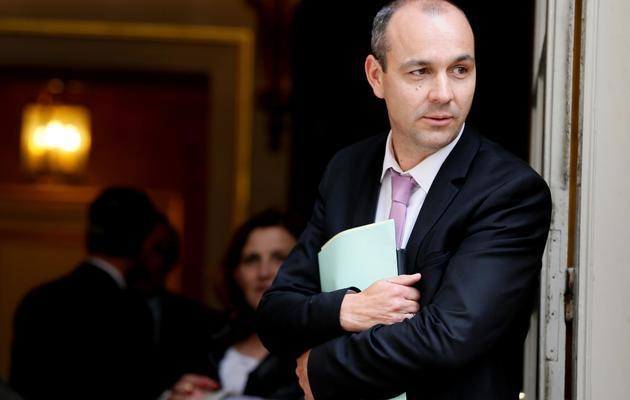 Laurent Berger le 22 mai 2013 à Paris [Kenzo Tribouillard / AFP]
