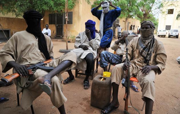 Des islamistes du Mujao le 16 juillet 2012 à Gao [Issouf Sanogo / AFP/Archives]