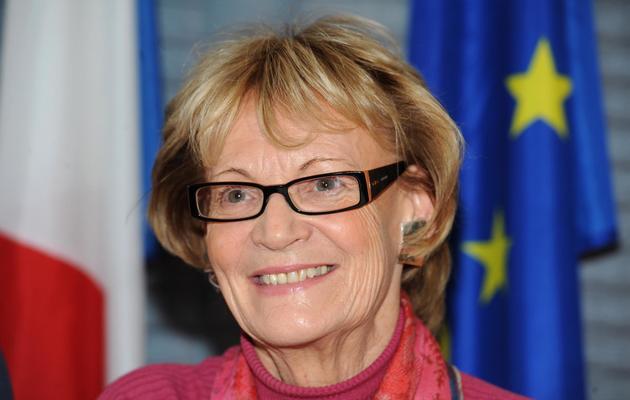 Hélène Mandroux le 29 janvier 2010 à Montpellier [Pascal Guyot / AFP/Archives]