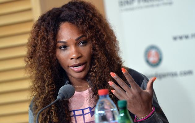 Serena Williams le 25 mai 2013 à Roland Garros à Paris [Miguel Medina / AFP]
