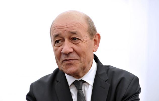 Jean-Yves Le Drian le 25 mai 2013 à Salon-de-Provence [Gérard Julien / AFP]