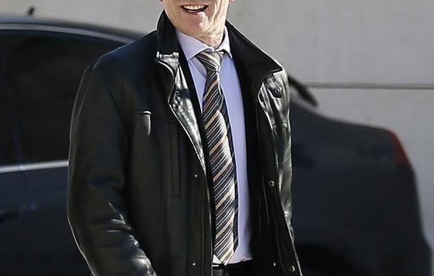 Le juge d'instruction Jean-Michel Gentil devant le palais de justice de Bordeaux, le 19 février 2013 [Patrick Bernard / AFP/Archives]