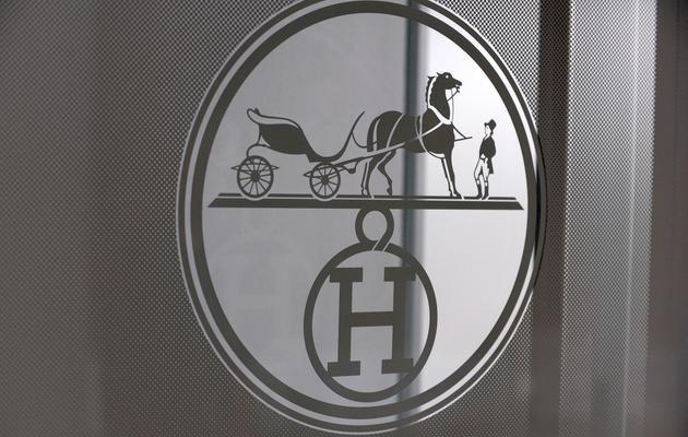 Le logo d'Hermès [Eric Piermont / AFP/Archives]