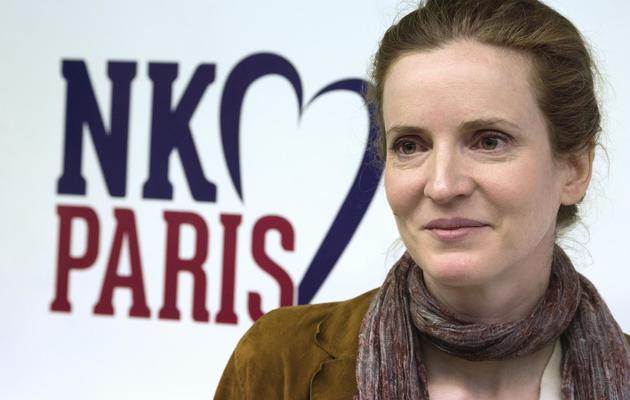 Nathalie Kosciusko-Morizet, candidate UMP à la mairie de Paris, le 22 avril 2013 dans la capitale [Joel Saget / AFP/Archives]