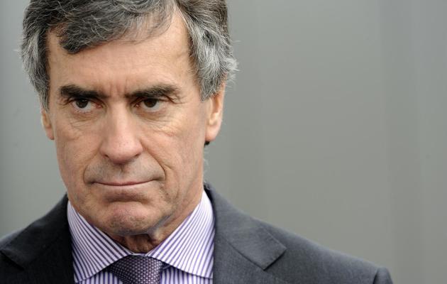 L'ex-ministre du Budget Jérôme Cahuzac, le 7 mars 2013 à Bassens, près de Bordeaux [Jean-Pierre Muller / AFP/Archives]