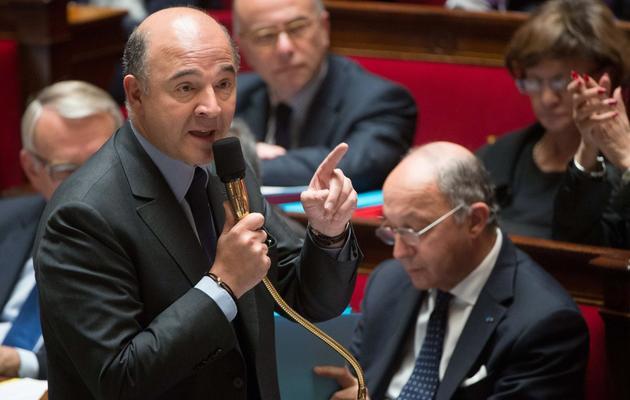 Pierre Moscovici le 4 juin 2013 à l'Assemblée nationale à Paris [Bertrand Langlois / AFP/Archives]