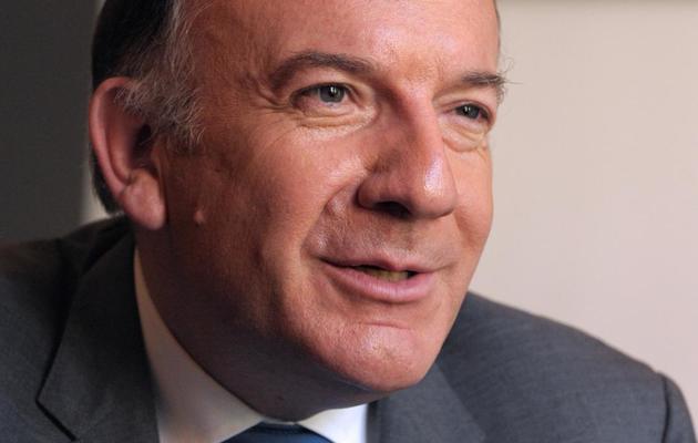 Pierre Gattaz, candidat à la présidence du Medef, le 6 juin 2013 à Paris [Eric Piermont / AFP]