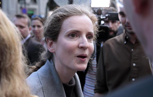 Nathalie Kosciusko-Morizet candidate UMP à la mairie de Paris, le 6 juin 2013 à Paris [Jacques Demarthon / AFP/Archives]