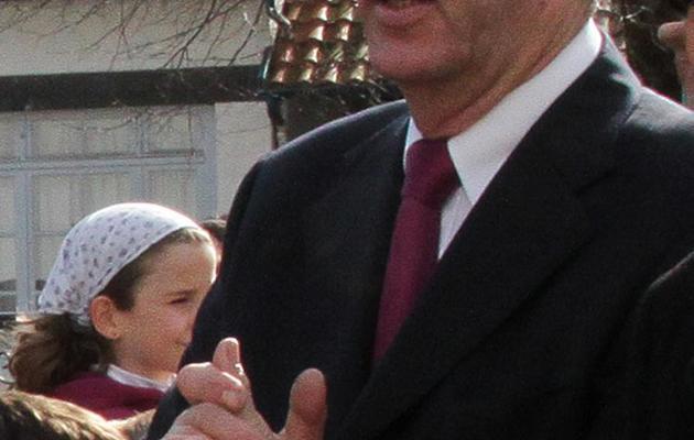 Jean-Michel Colo, maire d'Arcangues, le 5 juin 2013 [ / AFP]