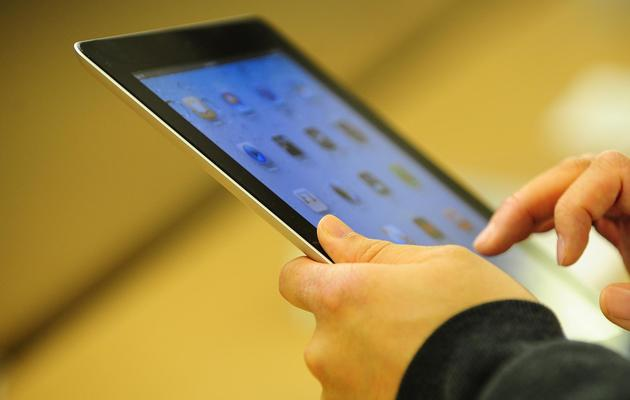 Un Ipad [Emmanuel Dunand / AFP/Archives]