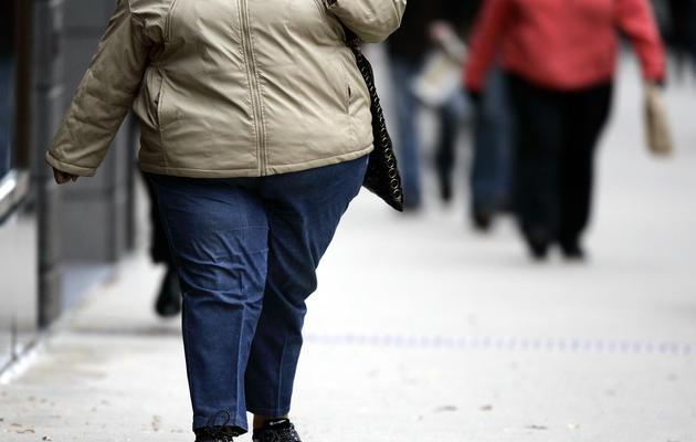 Une personne obèse [Jeff Haynes / AFP/Archives]