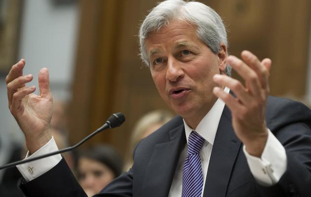Le patron de JPMorgan Chase, Jamie Dimon, le 19 juin 2012 lors de son audition au Congrès à Washington [Saul Loeb / AFP]