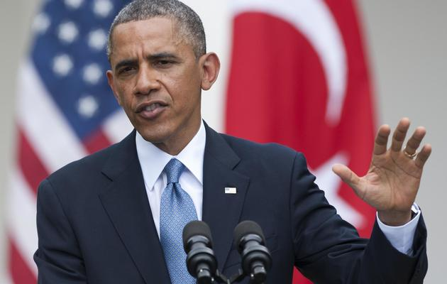 Barack Obama, le 16 mai 2013 à la Maison blanche à Washington DC [Saul Loeb / AFP]