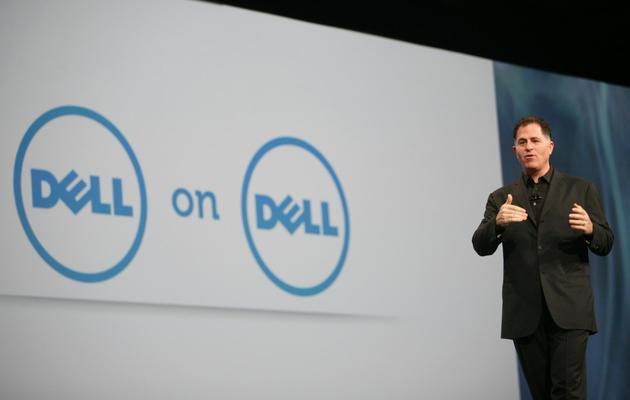 Le PDG de Dell, MIchael Dell, à San FRancisco le 4 octobre 2011 [Kimihiro Hoshino / AFP/Archives]